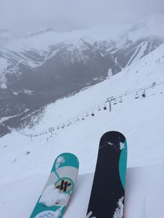 Dropping into Paradise Cornice @ Lake Louise in Banff, AB, Canada:snowflake: I Love Snow, Snow Fun, Ski And Snowboard, Snowboarding, Ski Ski, Snow Skiing, Banff National Park, Winter Fun, Belle Photo