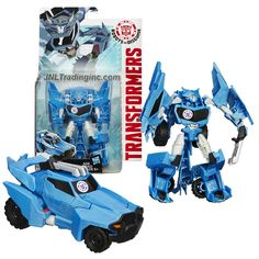 Hasbro Year 2014 Transformers Robots in Disguise Animation Series Deluxe Class 5 Inch Tall Robot Action Figure - Decepticon STEELJAW with Claw Weapon (Beast Mode: Werewolf)