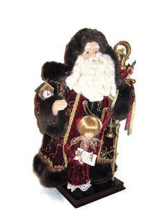 Santa with Doll by PoppyLesti on Etsy, $50.00