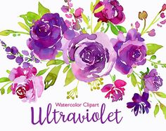 Watercolor Flowers Clipart Blue Roses Leaves Branches Free Commercial Use Aquarelle Clip Art Flower Separate PNG & Floral Arrangements Bright Flowers, Green Flowers, Rose Leaves, Green Leaves, Cross Hatching, Watercolor Rose, Watercolor Paintings, Watercolours, Flower Clipart