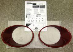 Nissan Juke Force Red Headlamp Finishers - KE6101K260RD