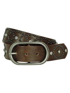 Style & Co. Women's Rhinestone and Studded Belt