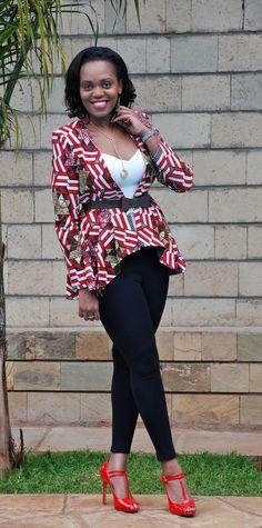 DAY 89: THE PEPLUM JACKET FROM KIDOSHO (KENYA) | 100 Days Of African Fashion