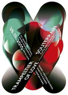 """Trampeltier of Love Souterrain c/o Neistshl 28 11 [Poster for the Concert of Trampeltier of Love at Neustahl's Souterrain Club], Switzerland, - Graphic Design by Matthias Hofmann (b. Web Layout, Graphic Design Posters, Web Design, Typography, Switzerland, Graphics, Club, Concert, Poster"