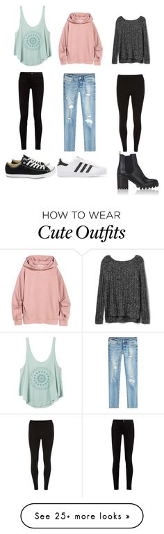 """cute outfits"" by sameeptabagga02 on Polyvore featuring RVCA, Gucci, True Religion, Gap, Dorothy Perkins, Converse, adidas Originals and Barneys New York"