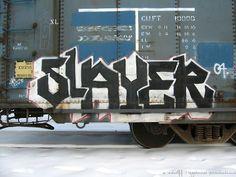 Freight Train Graffiti | Freight Train - Denver, CO