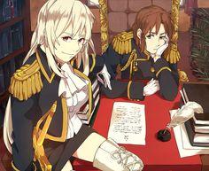 Hetalia (ヘタリア) - Fem!Prussia & Male!Hungary>>>> I can't handle this.