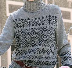 f2905566ad93d9 Ravelry: #03 Fair Isle Turtleneck pattern by Verena Design Team Etnic  Pattern, Knitting