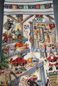 Cross Stitch Christmas Treasures
