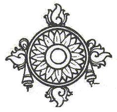 the sudarsana chakra Kalamkari Painting, Madhubani Painting, Ganesha Painting, Lord Shiva Painting, Chakra Painting, Kerala Mural Painting, Mandala Art Lesson, Madhubani Art, Indian Folk Art