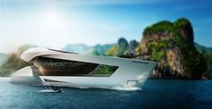 Sea Level Engineering - CF8 80-meter motor yacht concept