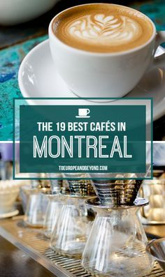 montreal coffee shops