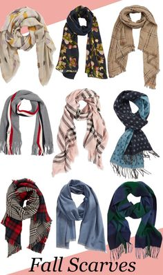 0cdc20a1c 83 Best fall scarves images in 2019 | Fall fashion, Ladies fashion ...