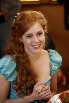 Enchanted - there are times I sincerely wish that I had red, curly hair.  Really.
