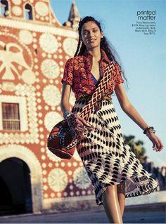para para paradise: dalianah akerion by sebastian kim for teen vogue june/july 2013   visual optimism; fashion editorials, shows, campaigns & more!