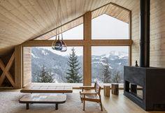 Mountain House, Manigod, 2017 - studio razavi architecture