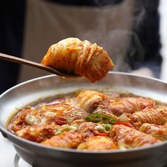 Hot Pot, Pork Belly, Kimchi, Recipies, Meals, Fresh, Drinks, Cooking, Ethnic Recipes