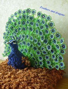 Dragon Bird, Fairytale, Peacock, Feathers, Dragons, Art Projects, Birds, Facebook, Crochet