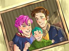 Lupin and Tonks spent a lot of time taking pictures with their baby- those pictures safe in their home.