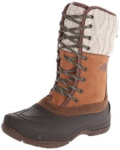 The North Face Shellista Lace Mid Winter Boot Womens Dachshund BrownDemitasse Brown 9 * This is an Amazon Affiliate link. More info could be found at the image url.