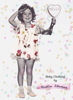 The Wildflower baby pinafore van Caitlin Shearer