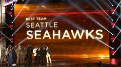 Espy Award for Best team...Seattle Seahawks! !!!