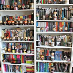 Day 23: Shelfie for #RFABSeptember17 It's time for a Sunday shelfie and you know I love any excuse to show off my shelves They're just so jam packed with books and filled with awesome merch from some of my favourite fandoms. I love having my very own library, I literally have another 4 shelves along the other wall that you never see. My fiance and my family think my book collection is insane but I couldn't be happier I really need some updated shelfies but my shelves are so hard...