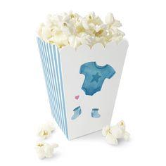 Blå Body / Søtt Popcornbeger Ice Tray, Popcorn, Party, Caramel, Creative, Fiesta Party, Parties