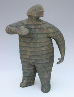Fred Yokel images - Google Search Ceramic Figures, Ceramic Art, Beatrice Wood, Earthenware, Prehistoric, Figurative Art, All Art, Sculpture Art, Art Dolls