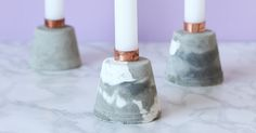 You know those DIYs that you start, but then you leave them sitting half finished for AGES? These gorgeous cement candle holders are one of those!I'm so glad I've finally finished them and now they can be put to good use. When I was dreaming up these candle holders Icouldn't find any tips for making...Read More Diy Candle Holders, Cement, Diys, Projects To Try, Candles, It Is Finished, Crafty, Mom, Interior Design