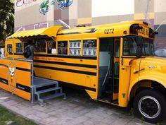 Food Truck Interior Design | Schoolbusworld: impressions