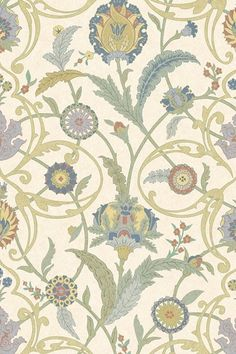 Discover hundreds of wallpaper ideas on HOUSE - design, food and travel by House & Garden including Ipek Damask by Lewis & Wood