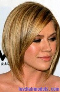 kelly clarkson3 Slanted Bob Hairstyle - This would look awesome on you Laura :D