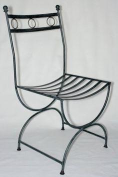 sillas de hierro forjado para comedor - Buscar con Google
