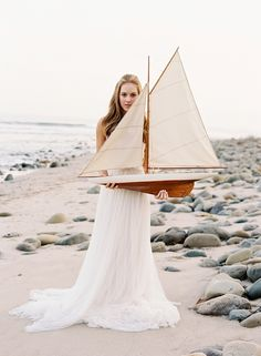 Beautiful nautical styled shoot by Jose Villa, styled by Joy de Vivre