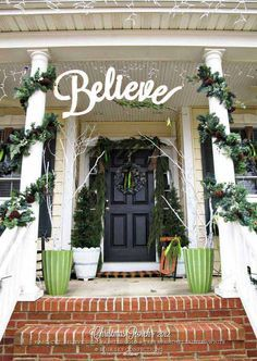 40 Cool DIY Decorating Suggestions For Christmas Front Porch others