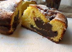 Torta Panna e Crema di Nutella!! uno spettacolo di bontà...E' morbidissima e con un cuore veramente goloso!!!