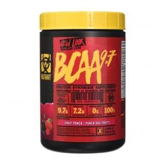 BCAA 9.7 - Mutant 348g/30serv Food, Meal, Essen, Hoods, Meals, Eten