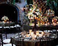 Cabo Flowers / Decoración boda / centros de mesa 2014