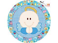 Angel Boy Free Printable Candy Bar Labels  Bautismo