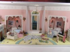 112 scale miniature roombox based on the childrens room from the movie hook with robin williams dustin hoffman evening view pinterest dustin