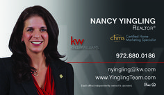 Nancy Yingling Business Card created by Marni G Designs #MarniGDesigns #BusinessCard #BC #NancyYingling