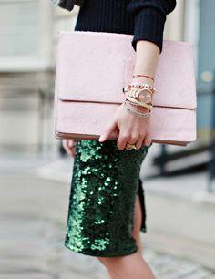 pink et vert