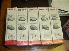 5 Pack Bundle of Bosch Style G Vacuum Bags Part #BBZ51AF2U
