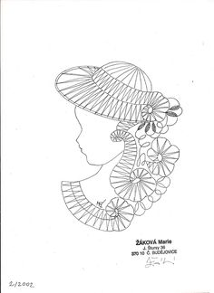 Looking for heds made with these prickings Bobbin Lace Patterns, Embroidery Patterns, Crochet Patterns, Cutwork Embroidery, Lacemaking, Sketch Inspiration, Cut Work, Crochet Diagram, Needle Lace