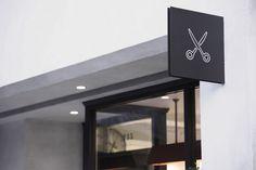 Pebble Co., Ltd. / BARL SALON  |岡山|美容室|店舗設計|有限会社ペブル|インテリアデザイン|設計事例| BARL SALON | okayama | retail design : PEBBLE Co.,Ltd. | beauty salon | hair salon | interior design | salon design | signage | facade