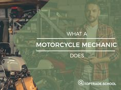 What a motorcycle mechanic does #motorcycles #mechanic #career #education #job