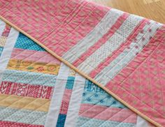 Layer Cake Coin Quilt