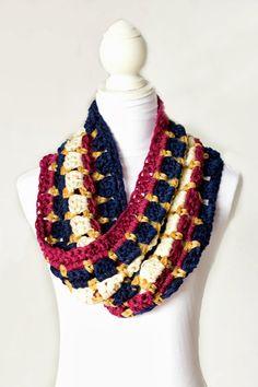 Warm & Toasty Winter Cowl Crochet Pattern via Hopeful Honey, thanks so xox