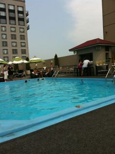 Colonnade Rooftop Pool Boston Hotel in Boston, MA